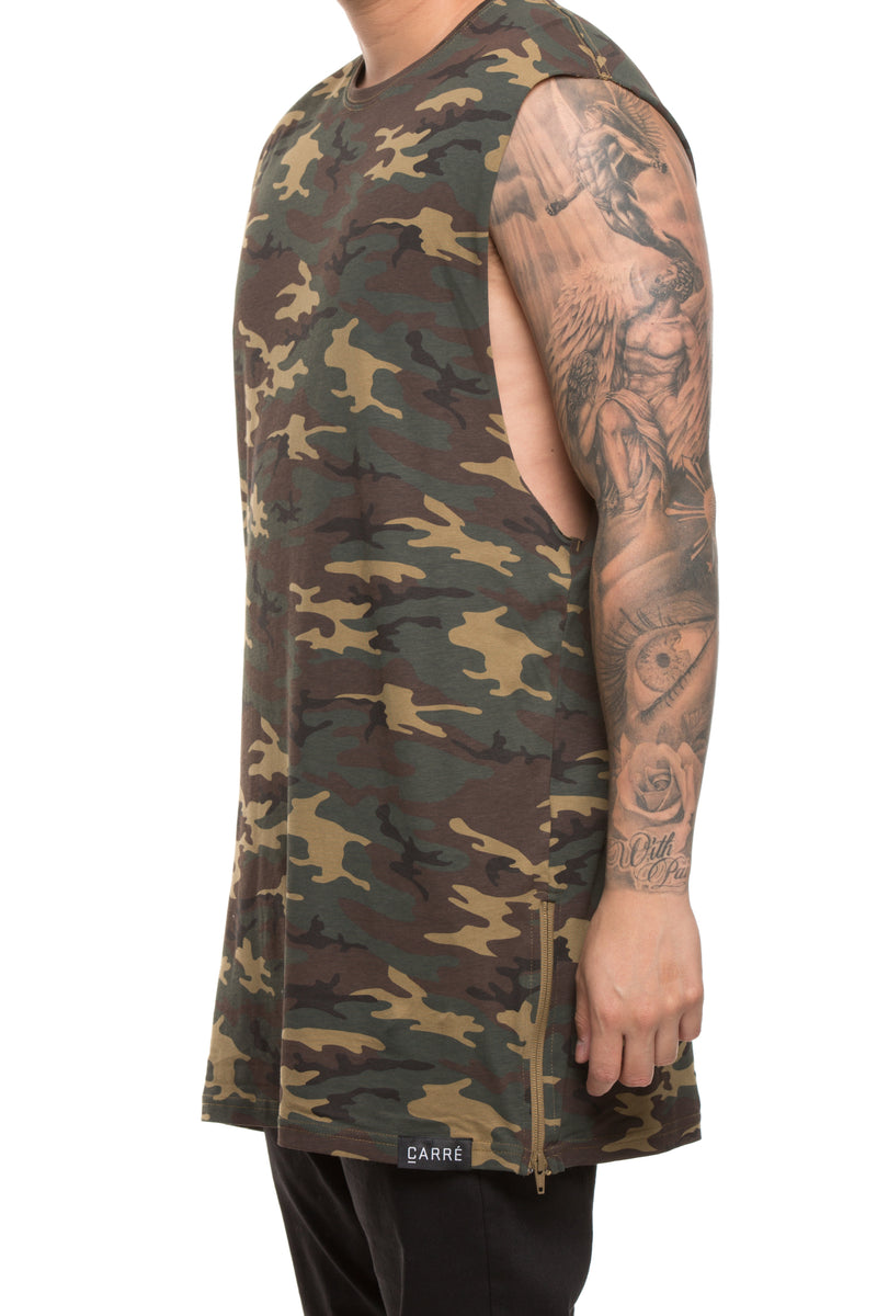 Carré Capone 3.0 Muscle Tee Camo