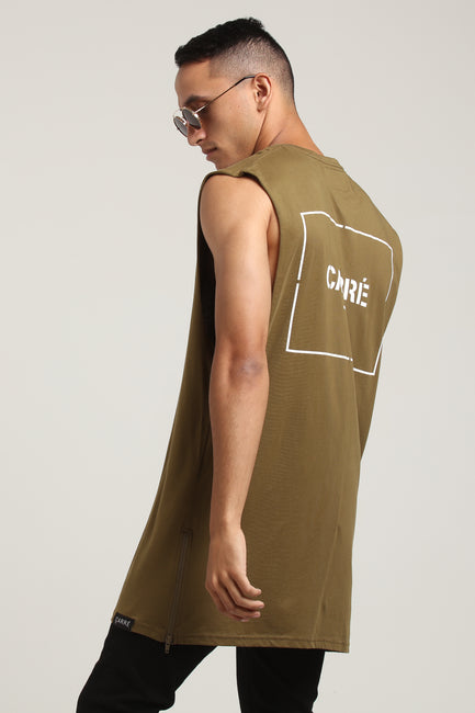 Carré Section 2 Capone Muscle Tee Olive