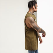 Carré Incline Capone Muscle Tee Olive
