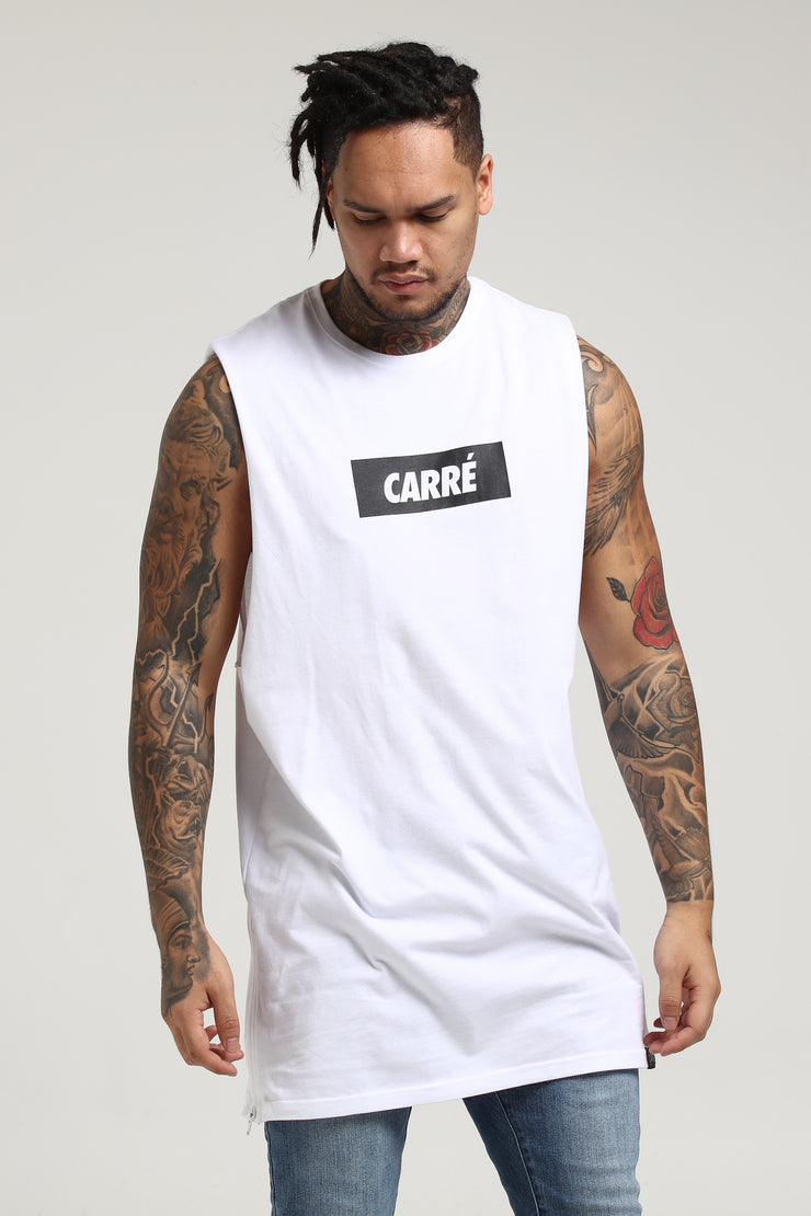 Carré Incline Capone Muscle Tee White