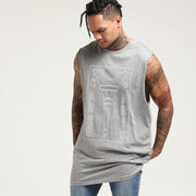Carré Blueprint Capone Muscle Tee Grey Heather