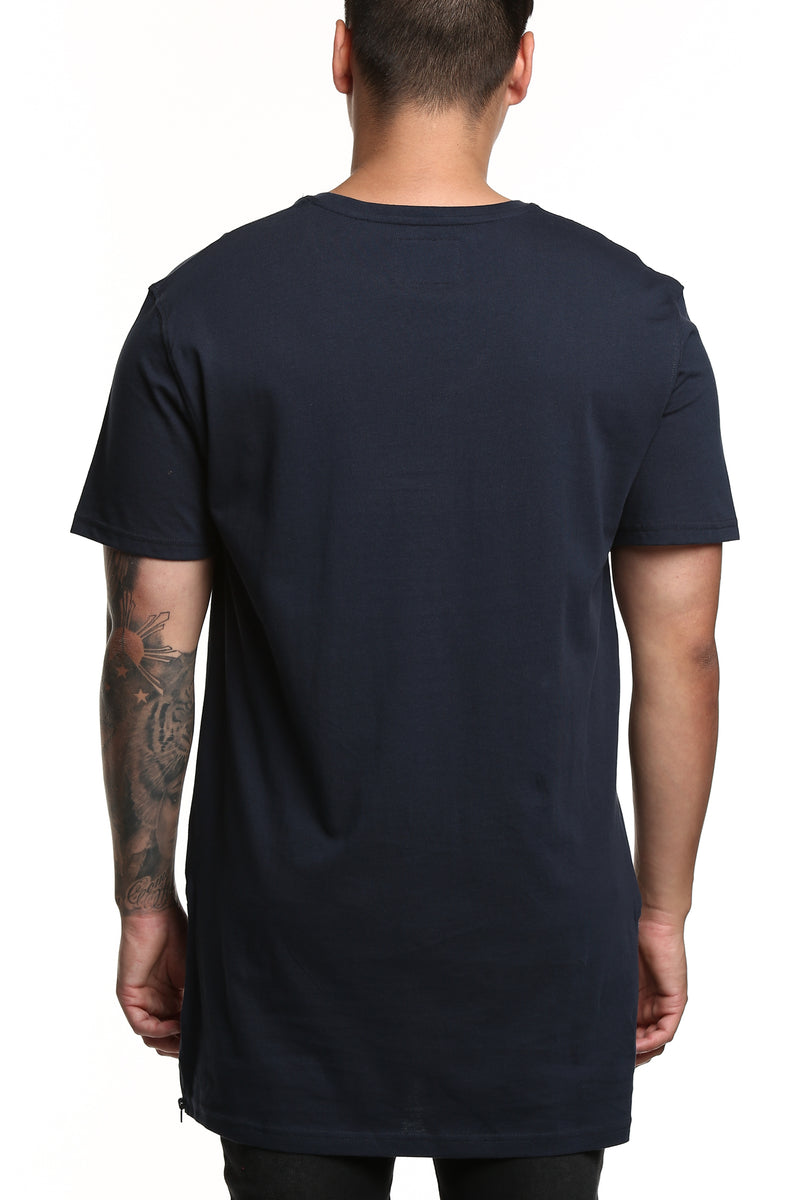 Carré Repetition Capone SS Tee Navy