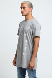 Carré Cercle Cinq Capone SS Tee Grey