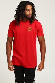 Carré Brulant Divise SS Tee Red