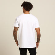 CARRÉ BRUSHED DIVISE SS TEE WHITE