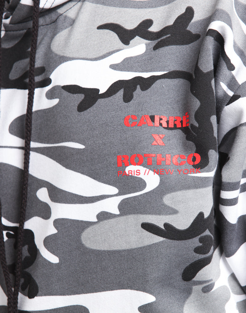 Carre X Rothco Hooded Shirt