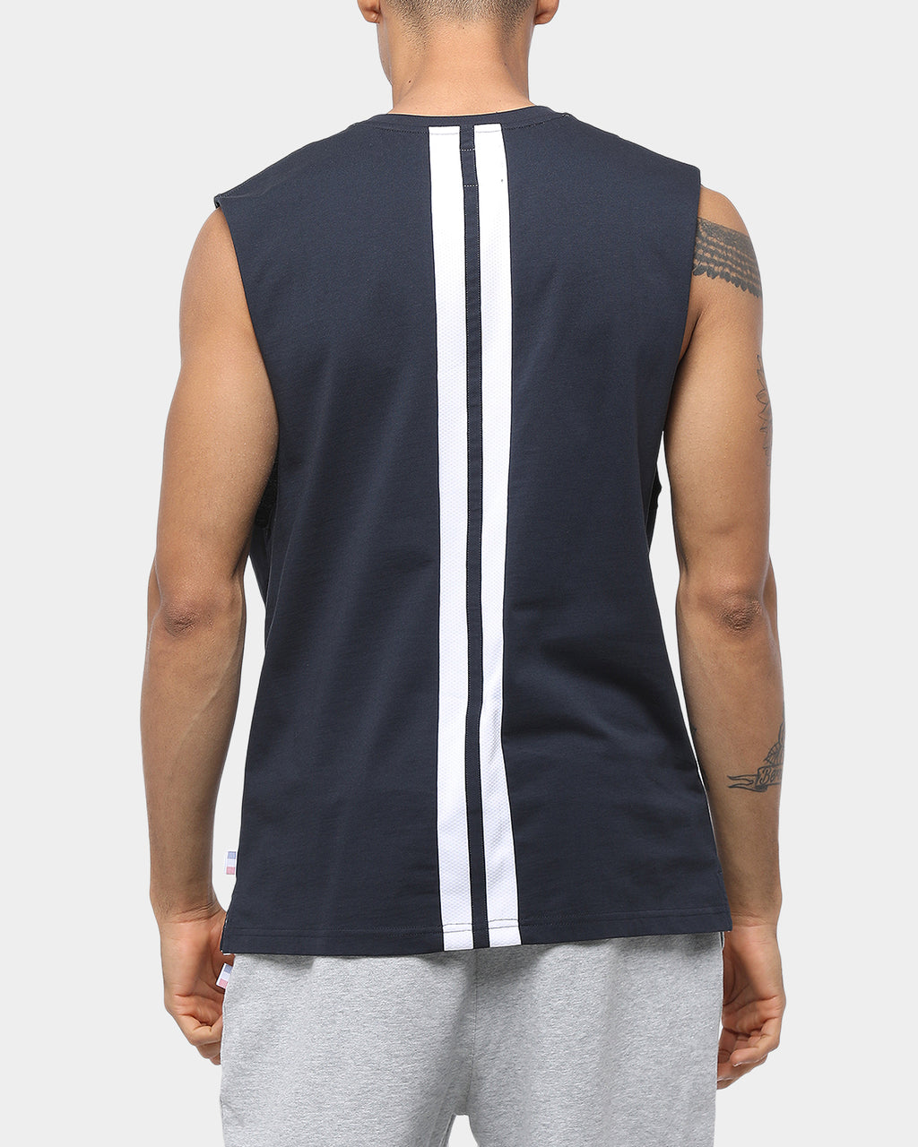 Carré Squad Muscle Tee Navy