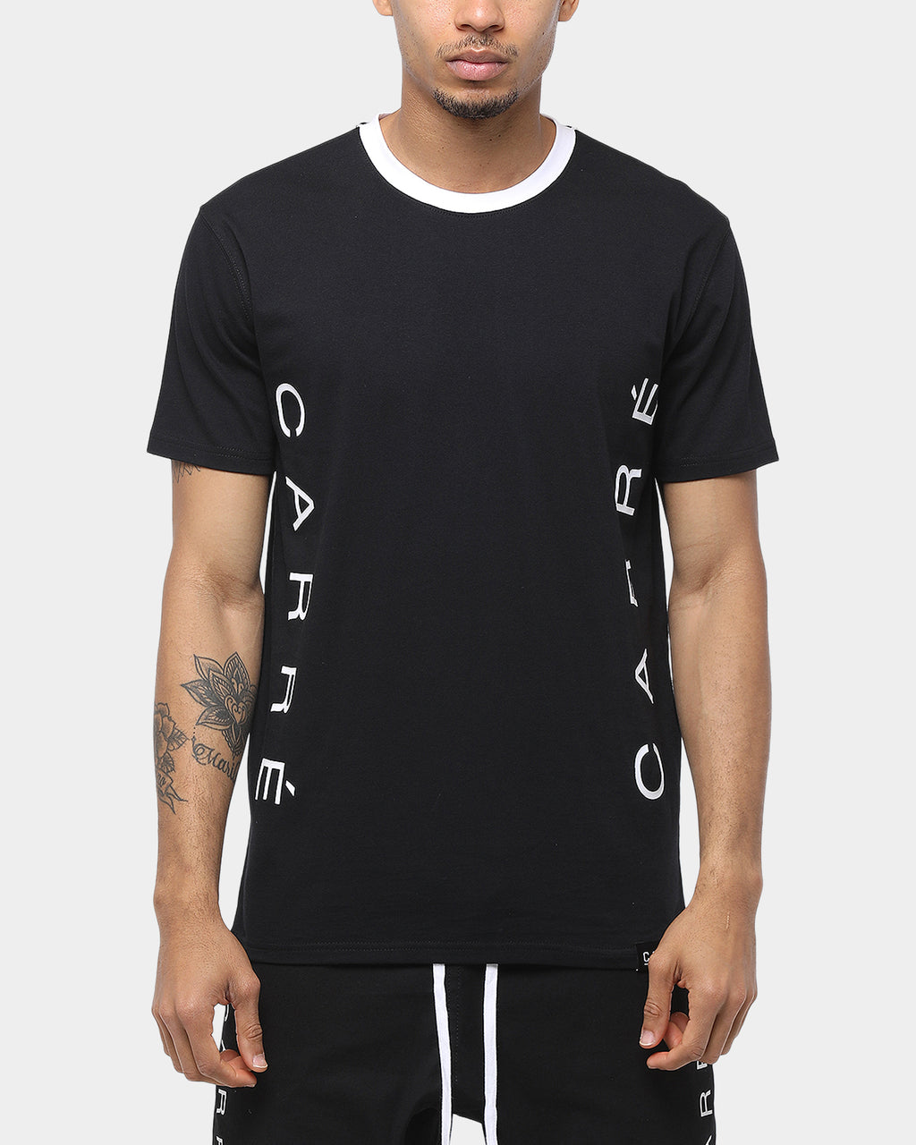 Carré Renegade SS Tee Black/White
