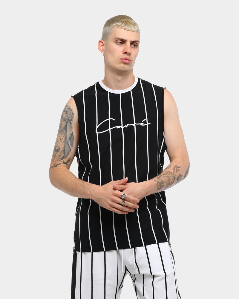 Carré Bande Practice Muscle Tee Black