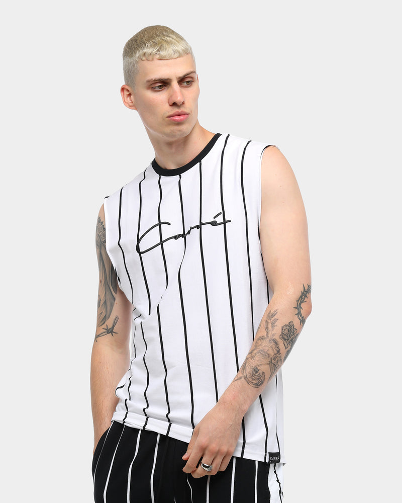 Carré Bande Practice Muscle Tee White