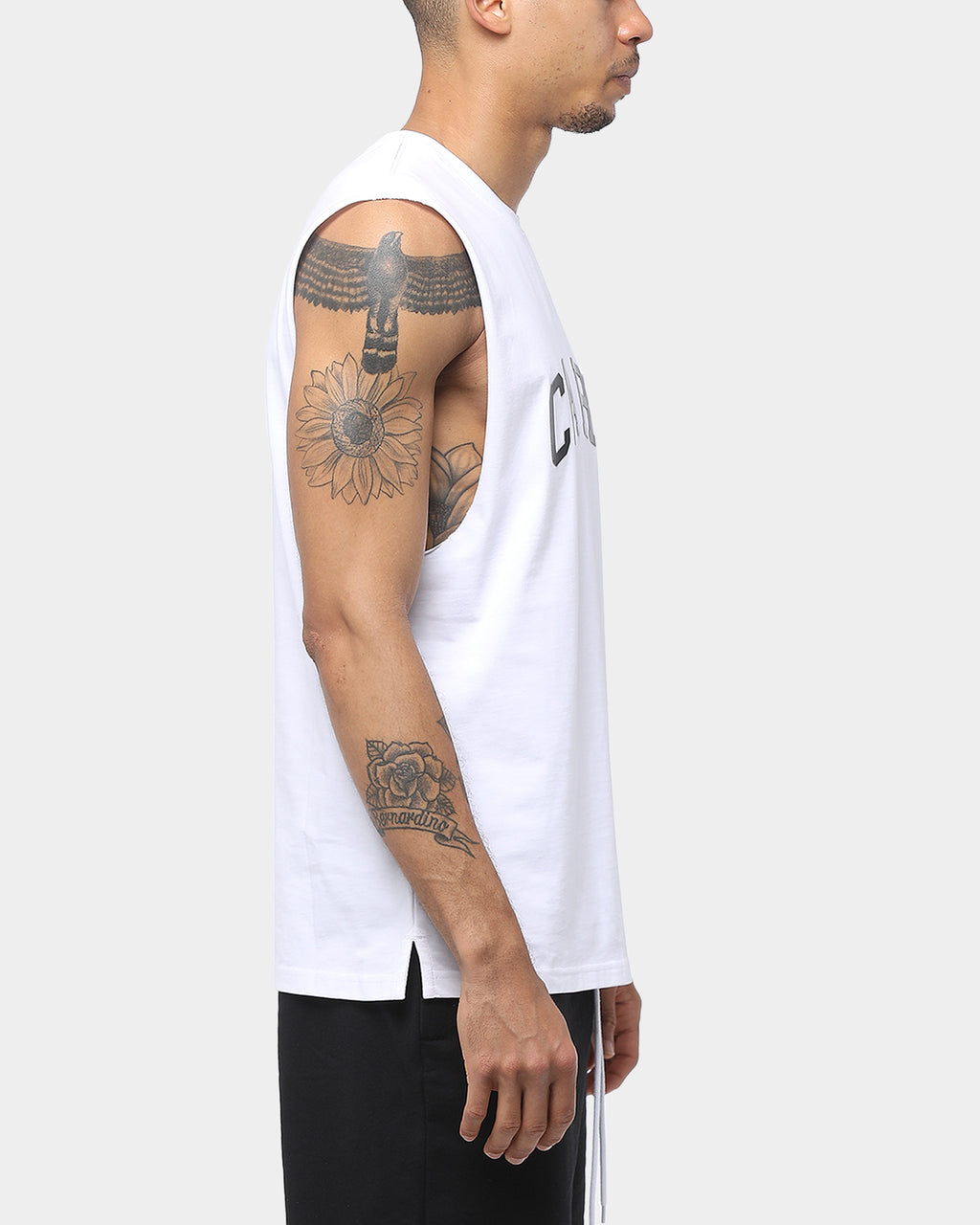 Carré Squad Muscle Tee White