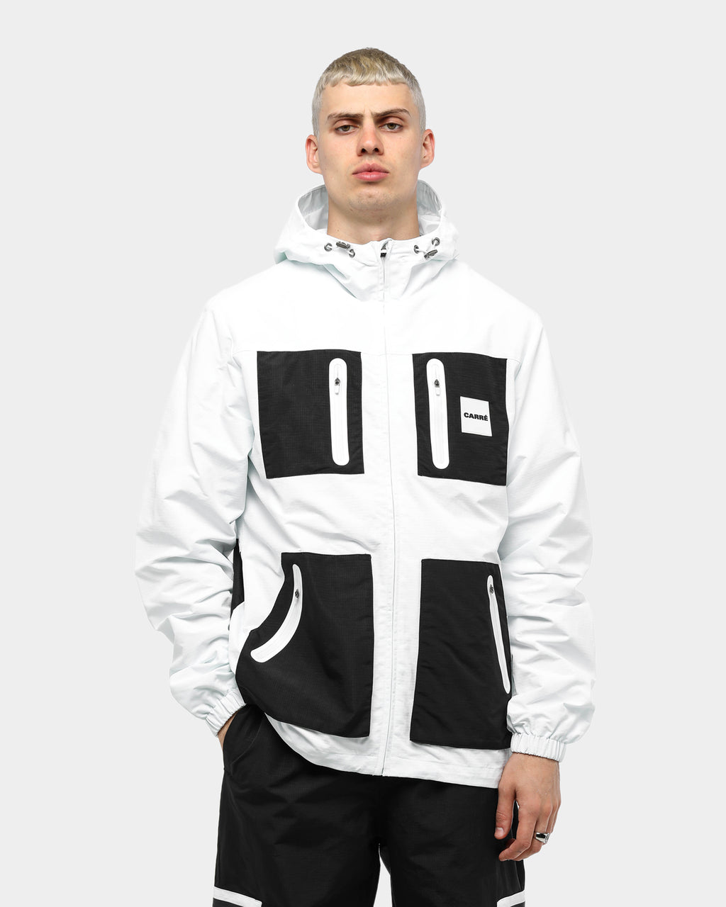 Carré Objectif Windbreaker White/Black