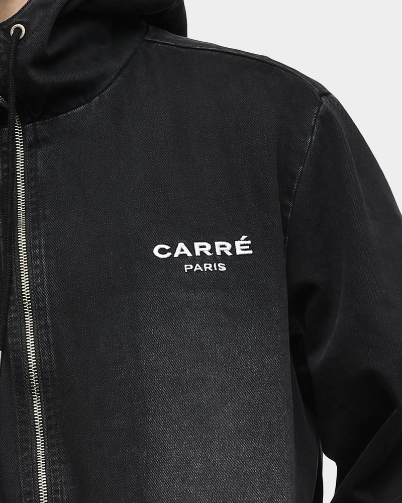 Carré Men's Endommage Denim Jacket Black