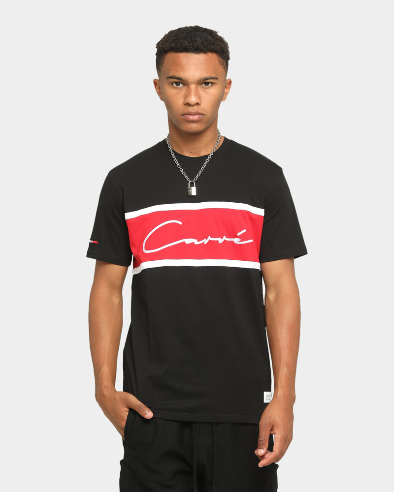 Carré Scripted Classique Short Sleeve T-Shirt Black/Red
