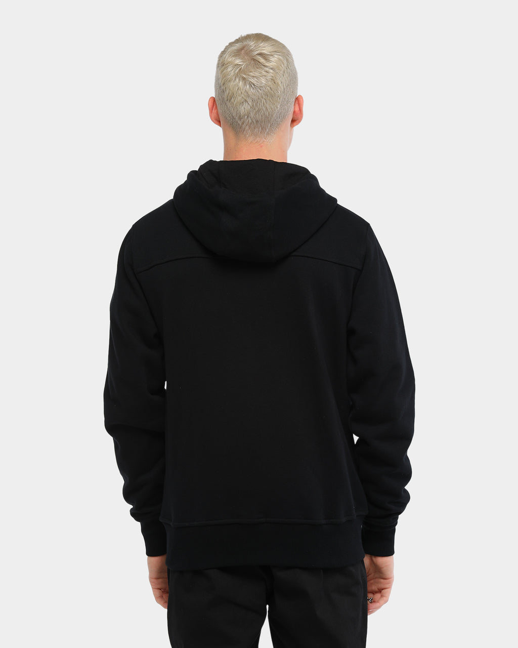 Carré Cible Zip Up Hoodie Black