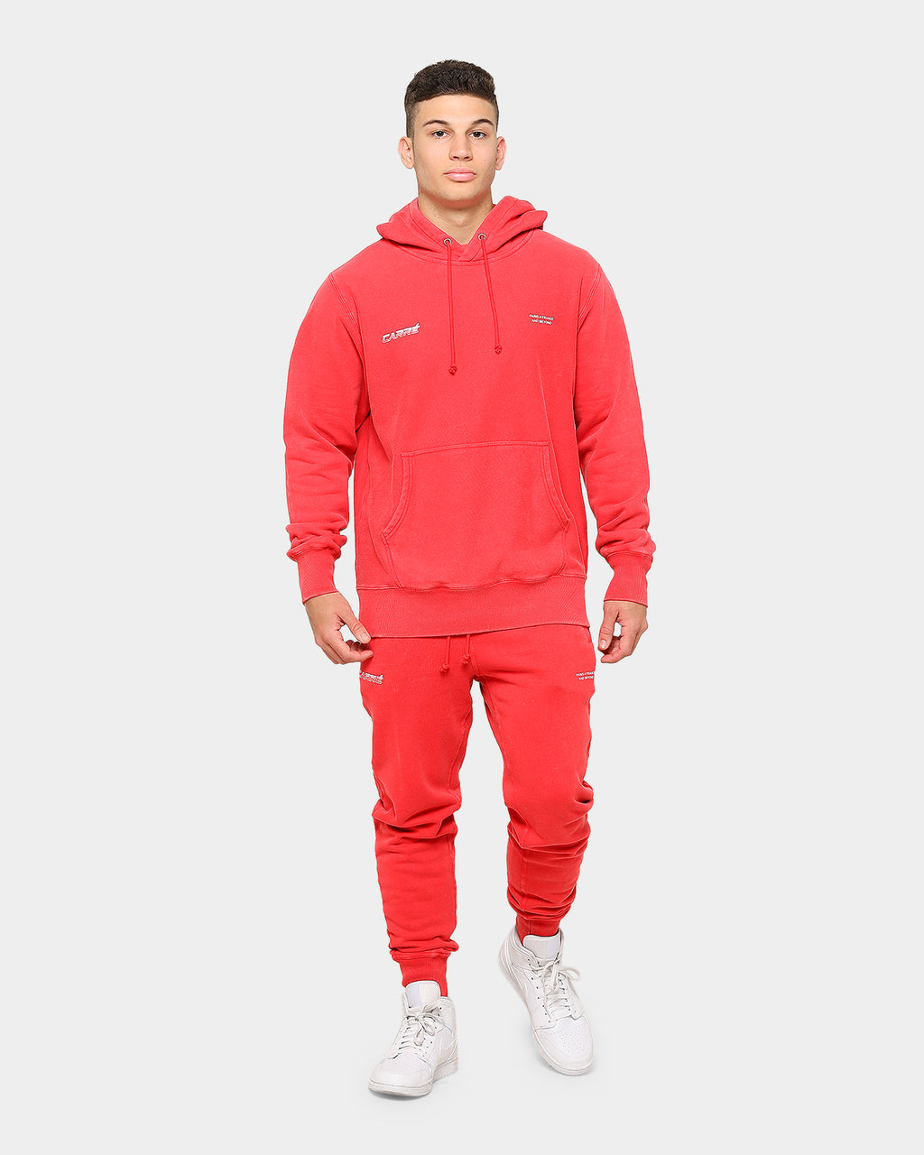 Carré Men's Colorant Classique Hoodie Red