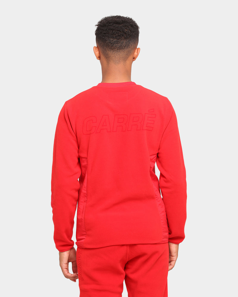 Carré Polaire Crewneck Red
