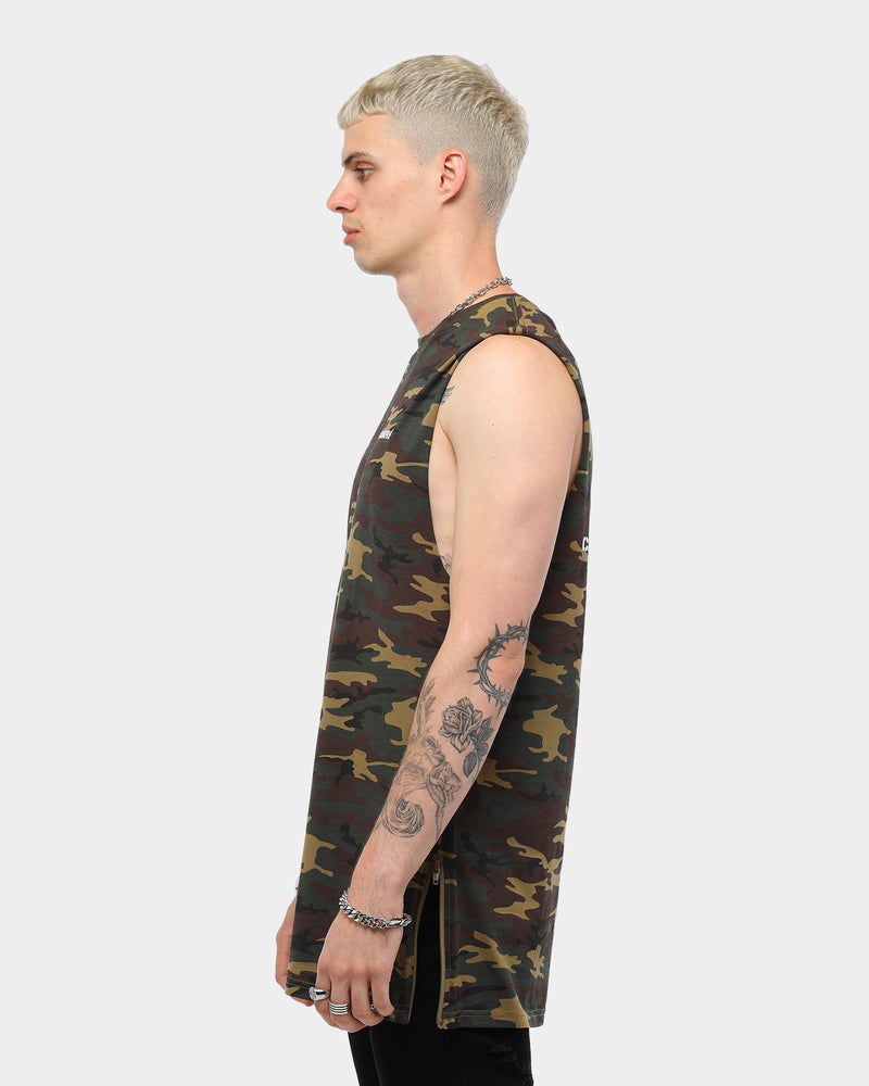 Carré Men's Command Capone Muscle Tee Camo