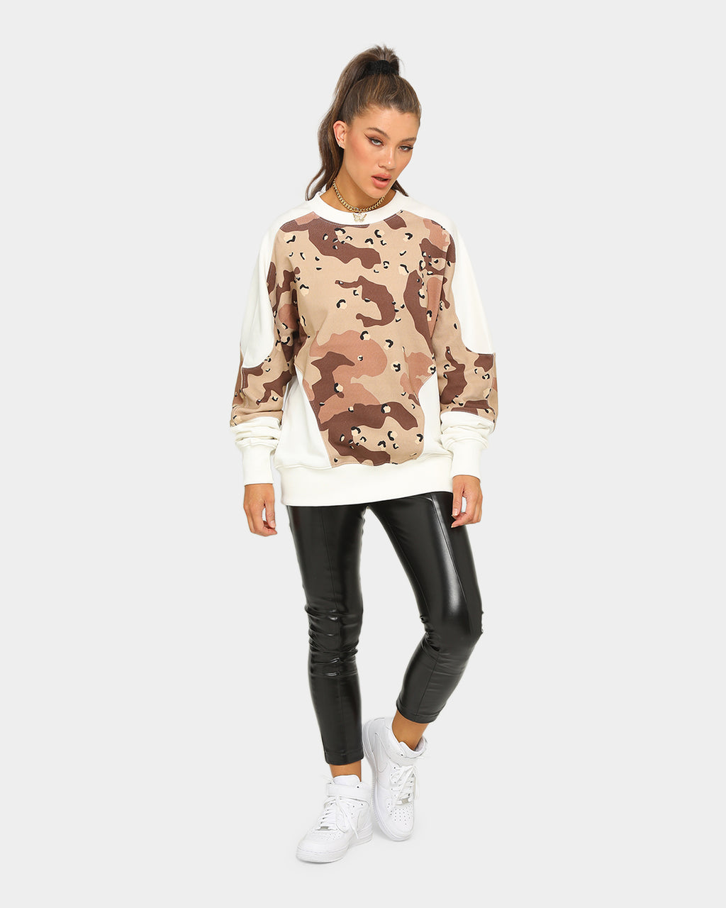 Carré Urban Jungle Crewneck Desert Camo