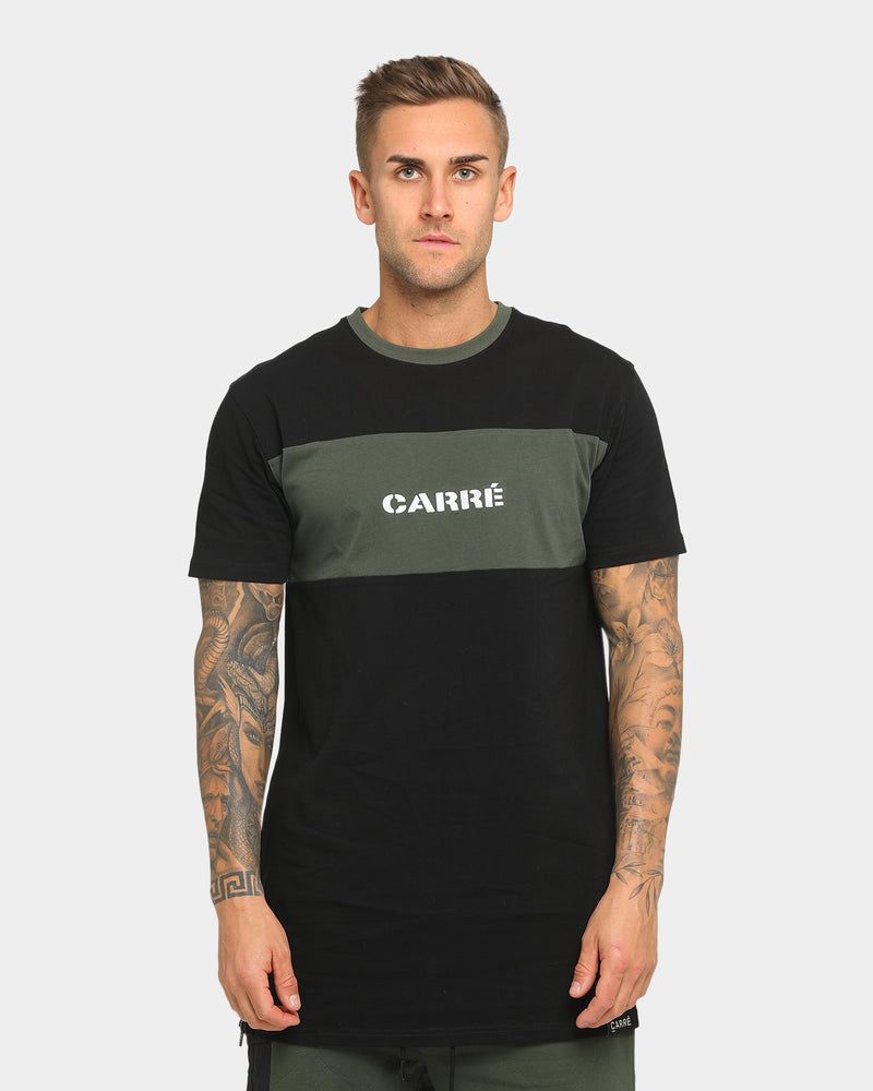 Carré Roadman Tall Short Sleeve T-Shirt Black/Army Green