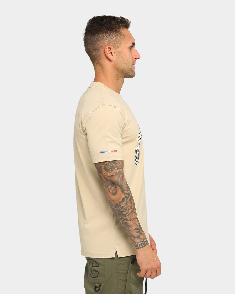 Carré Monarch Classique Short Sleeve T-Shirt Stone