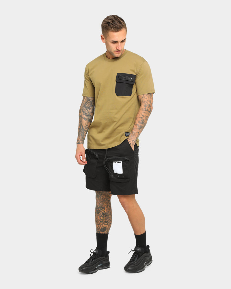 Carré Men's Forest Pocket Short Sleeve T-Shirt Olive