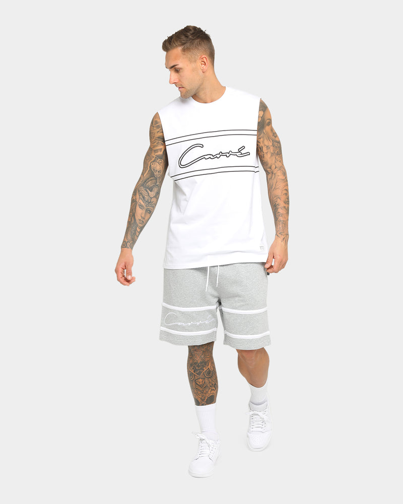 Carré Scripted Outline Muscle White