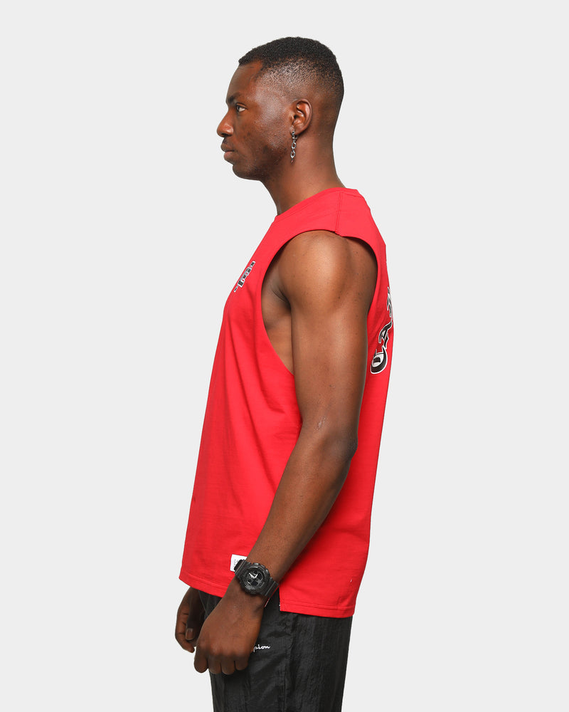 Carre Men's Mono Muscle T-Shirt Red