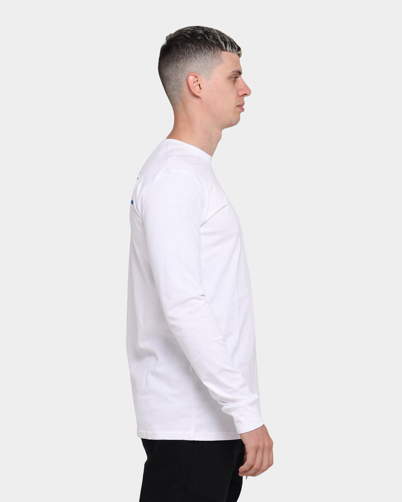 Carré Stripes Long Sleeve T-Shirt White