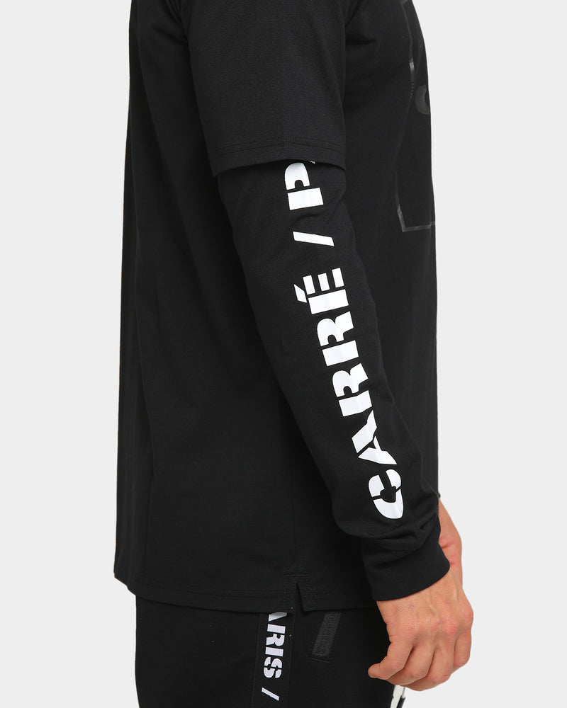 Carré Revolution Layer Long Sleeve T-Shirt Black