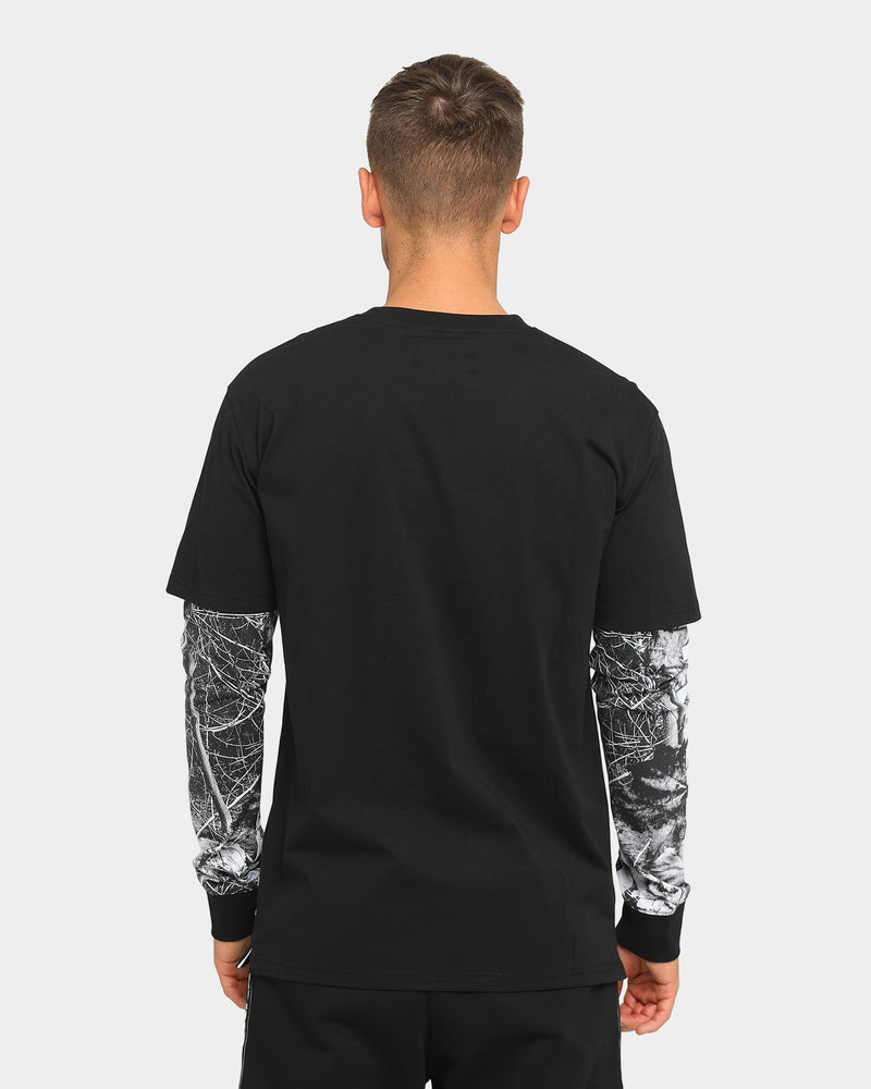 Carré Revolution Layer Long Sleeve T-Shirt Black Forest