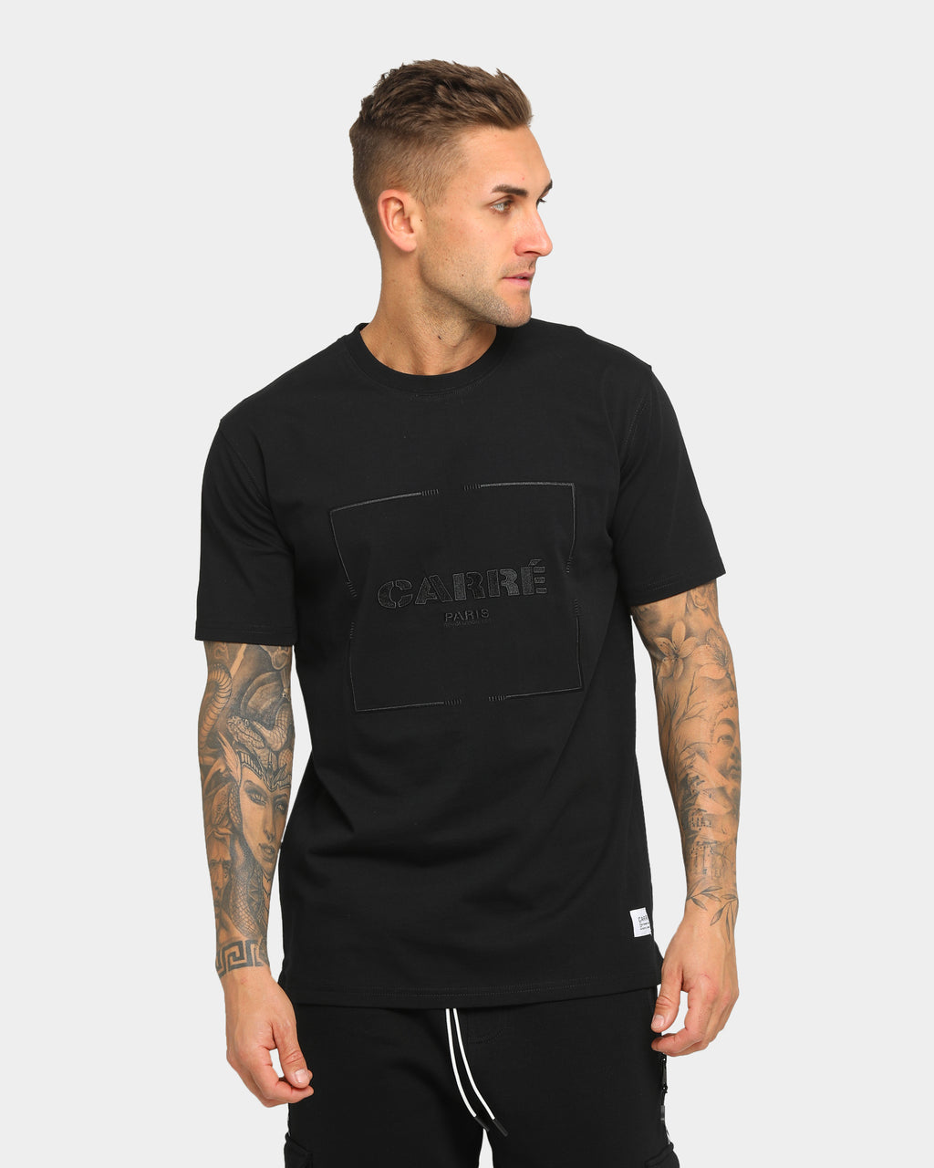 Carré Revolution Classique Short Sleeve T-Shirt Black