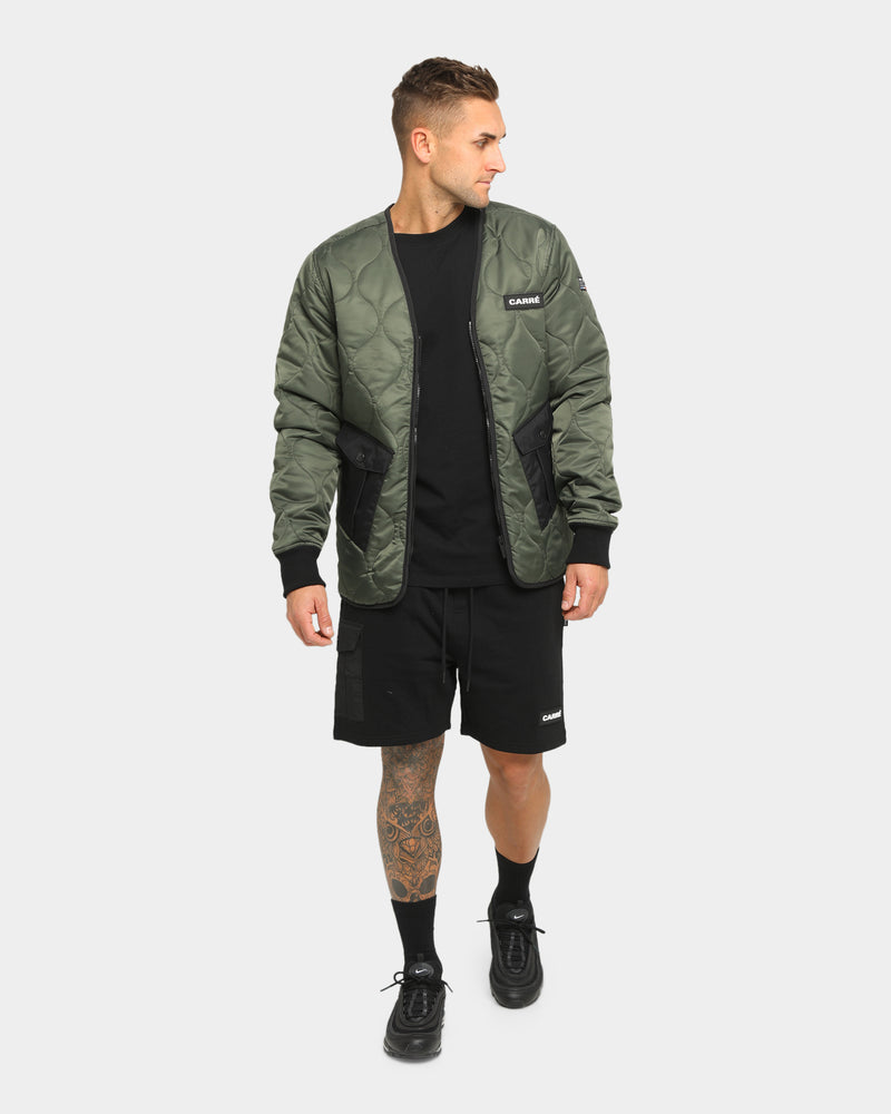 Carré Roadman Quilted Jacket Army Green