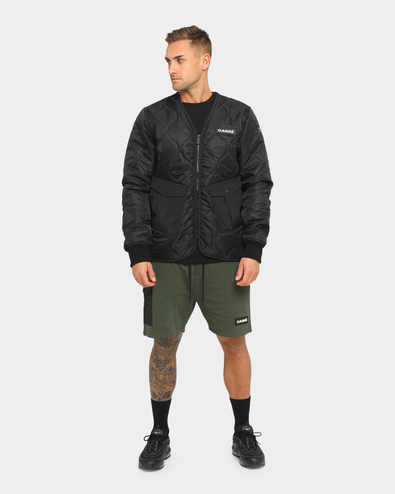 Carré Roadman Quilted Jacket Black