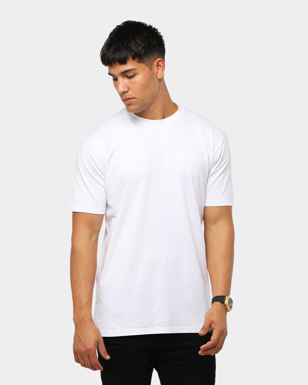 Carré Sport Standard Short Sleeve T-Shirt White