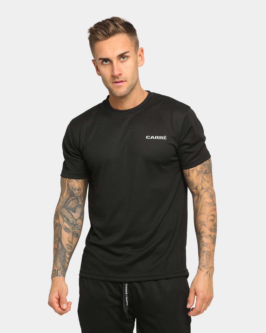 Carré Momentum Active Short Sleeve T-Shirt Black/Reflective
