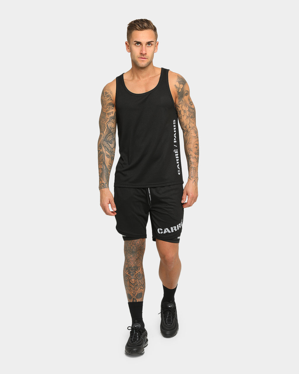 Carré Momentum Active Singlet Black/Reflective
