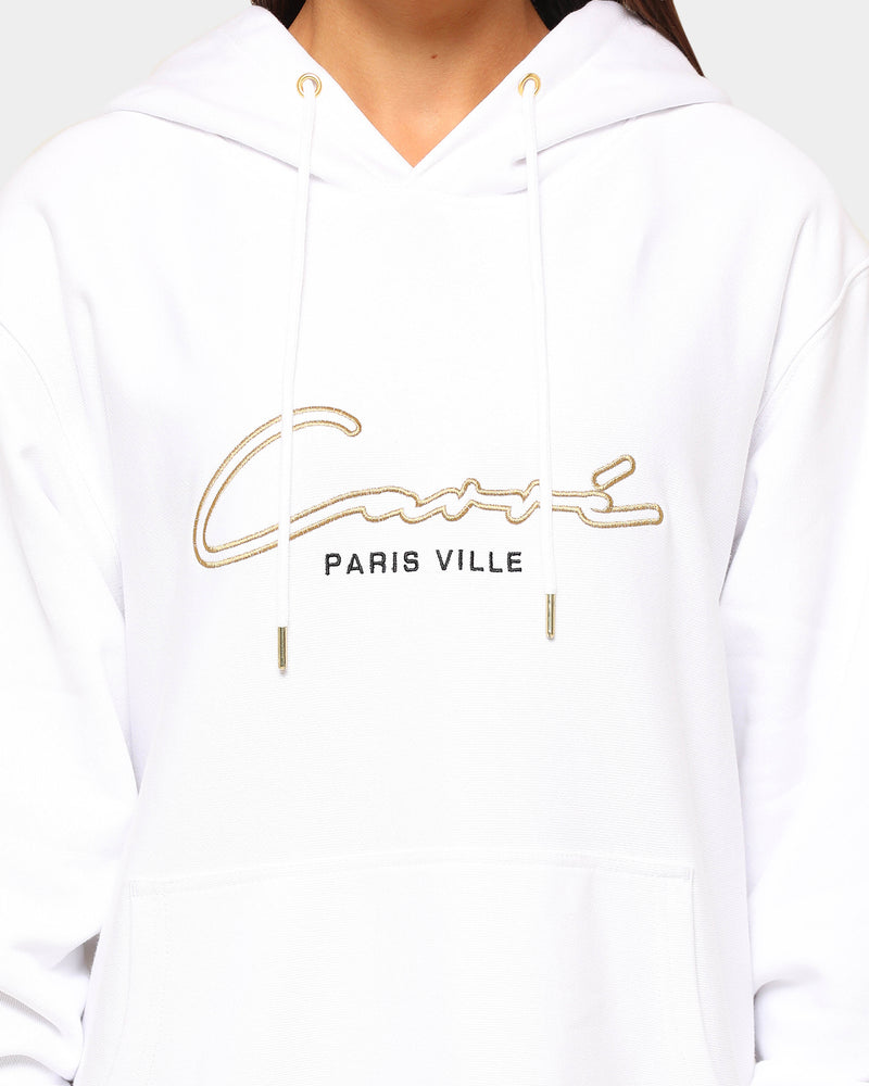 Carré Men's Paris City Classique Hoodie White/Gold