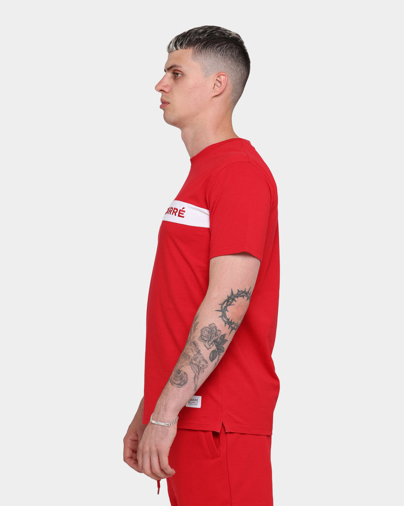 Carré Slice Short Sleeve T-Shirt Red