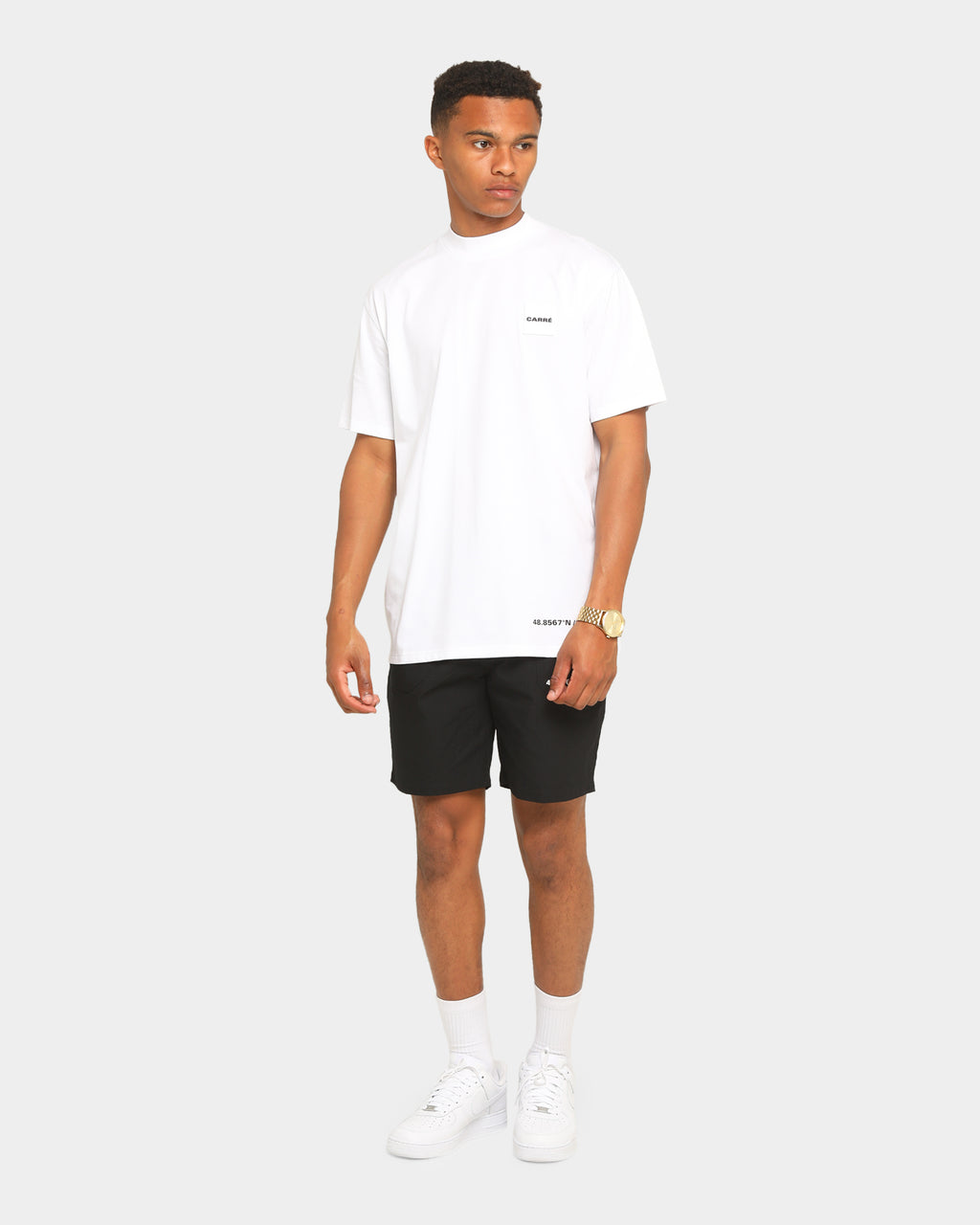 Carré Marshal Short Sleeve T-Shirt White