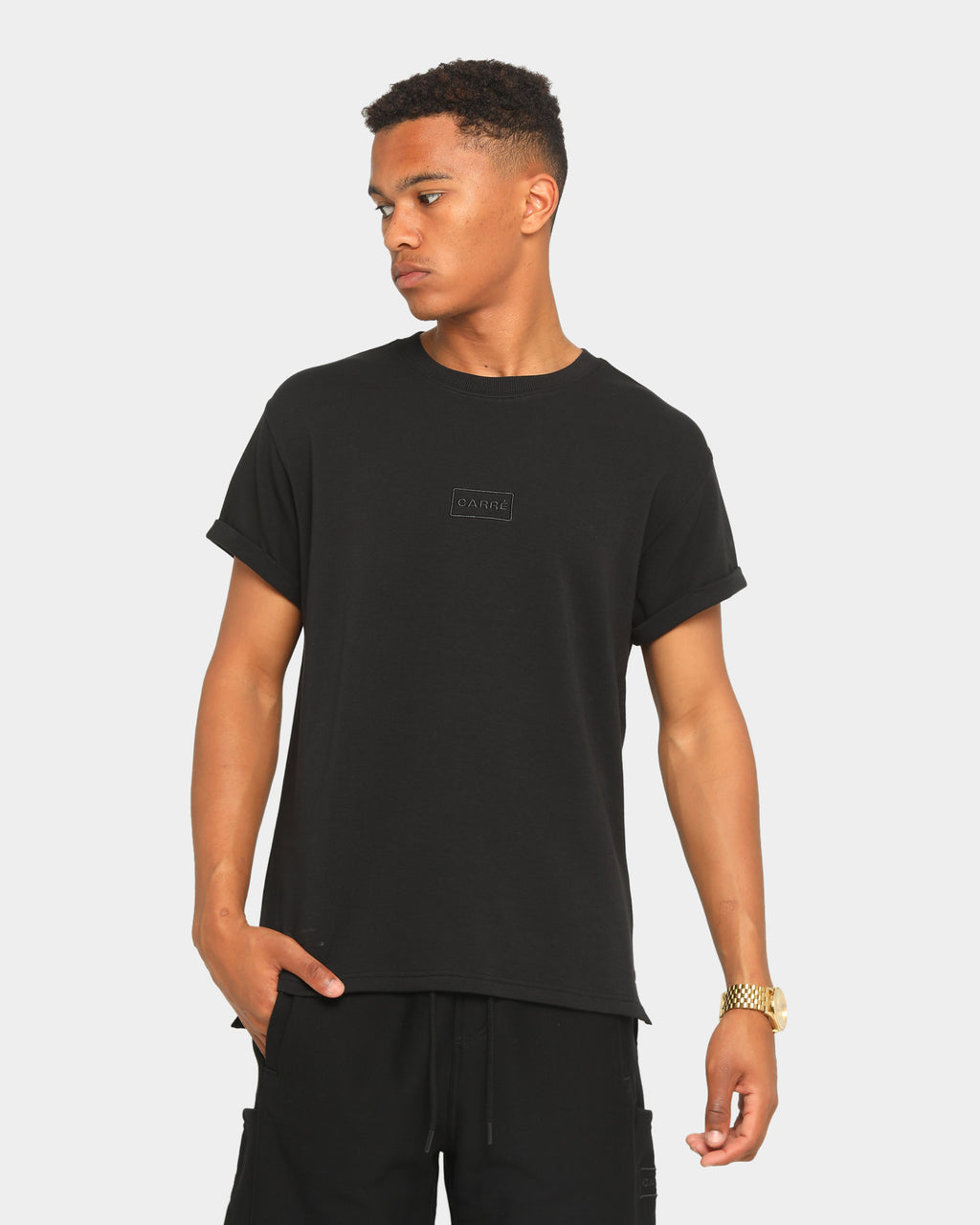 Carré Commando Short Sleeve T-Shirt Black