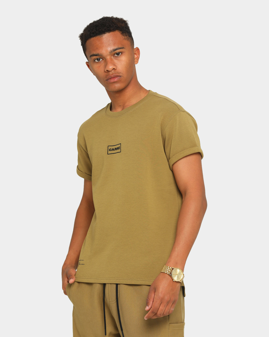 Carré Commando Short Sleeve T-Shirt Olive