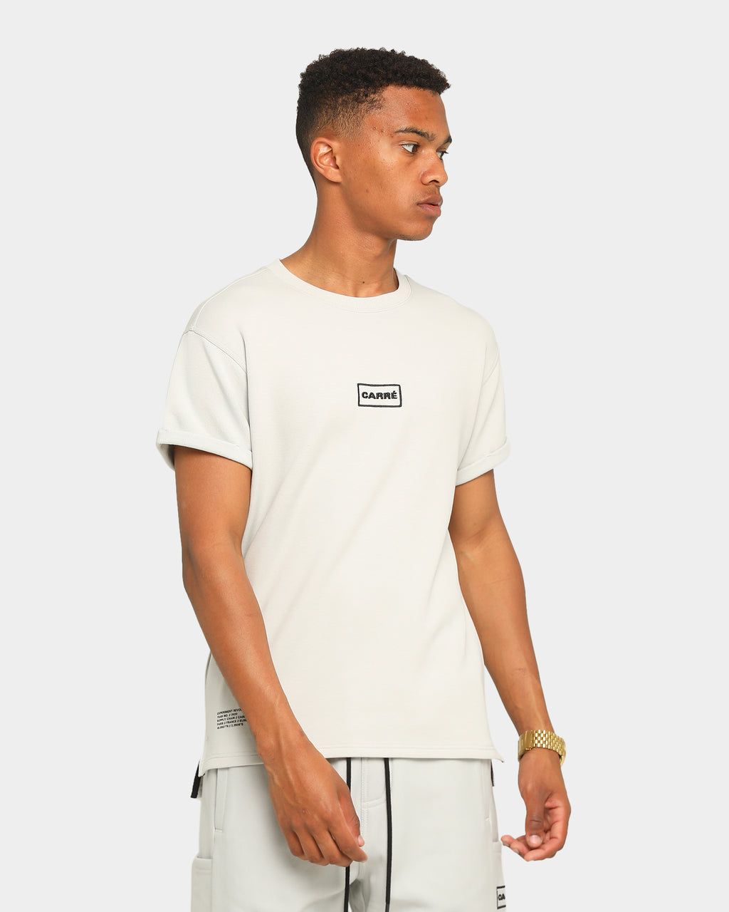 Carré Commando Short Sleeve T-Shirt Grey