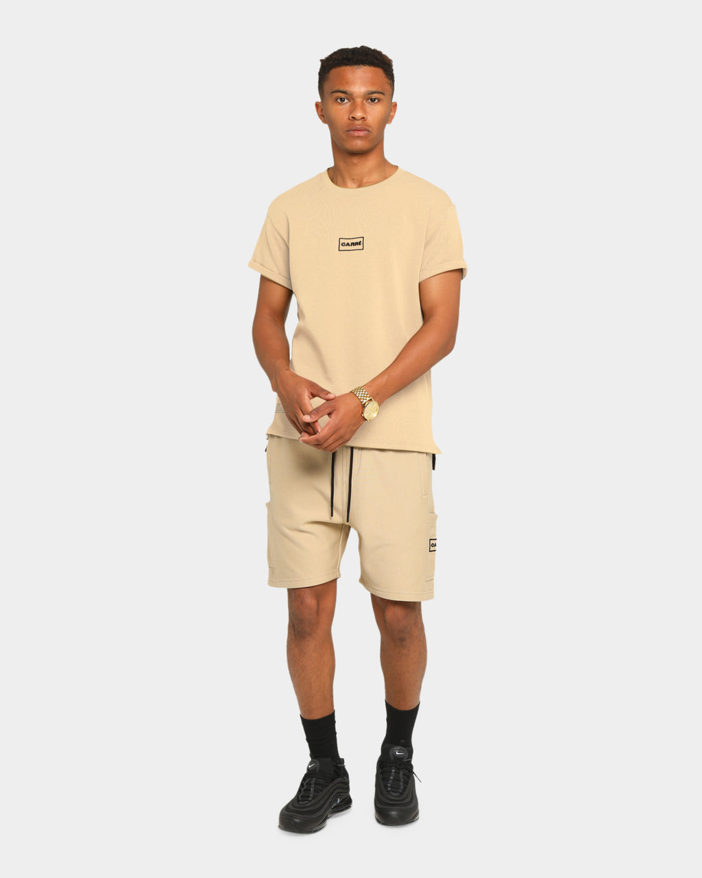Carré Commando Short Sleeve T-Shirt Stone