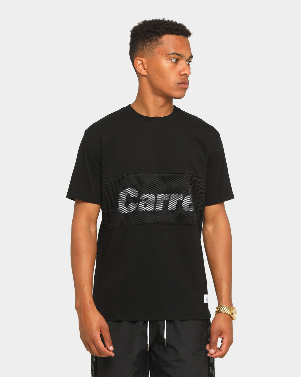 Carré Piste Short Sleeve T-Shirt Black