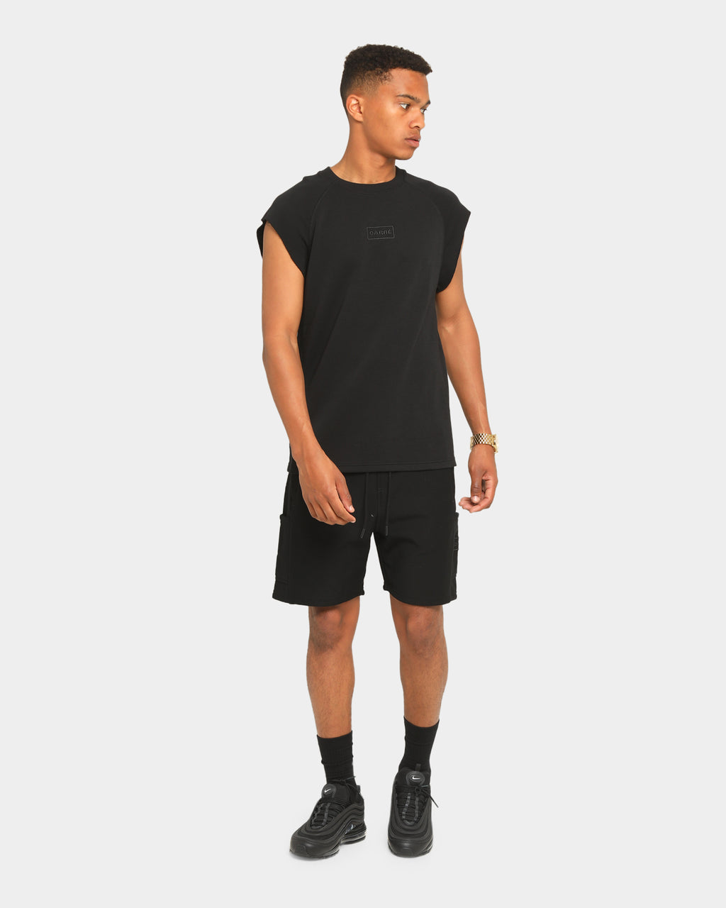 Carré Commando Muscle T-Shirt Black