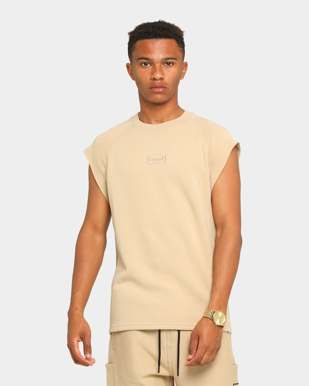 Carré Commando Muscle T-Shirt Stone