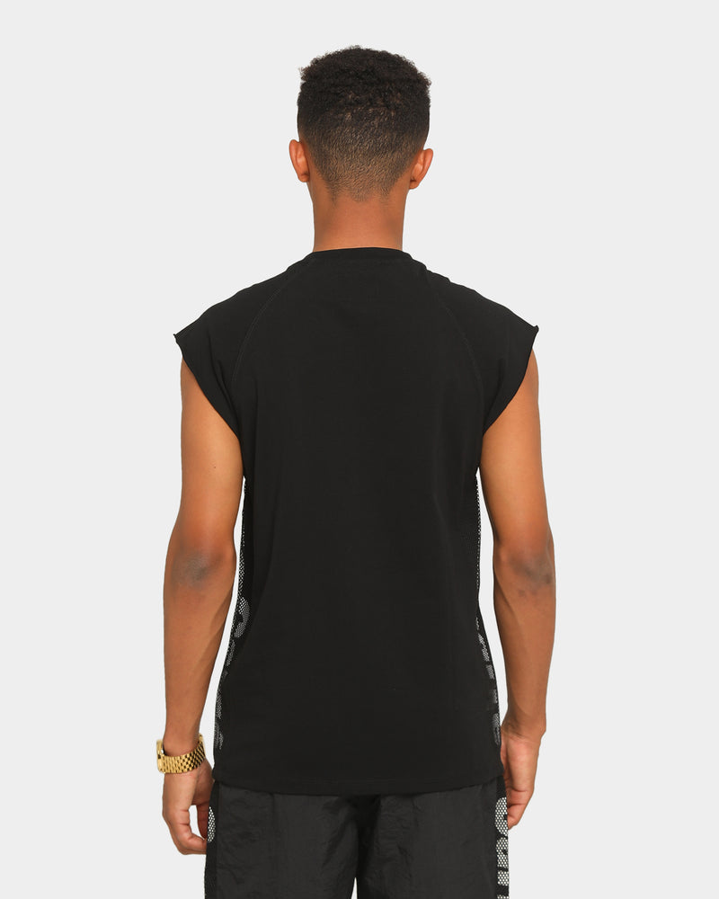Carré Piste Muscle T-Shirt Black