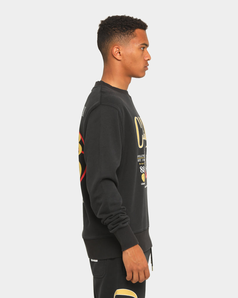 Carré Emblem Champs Crewneck Washed Black