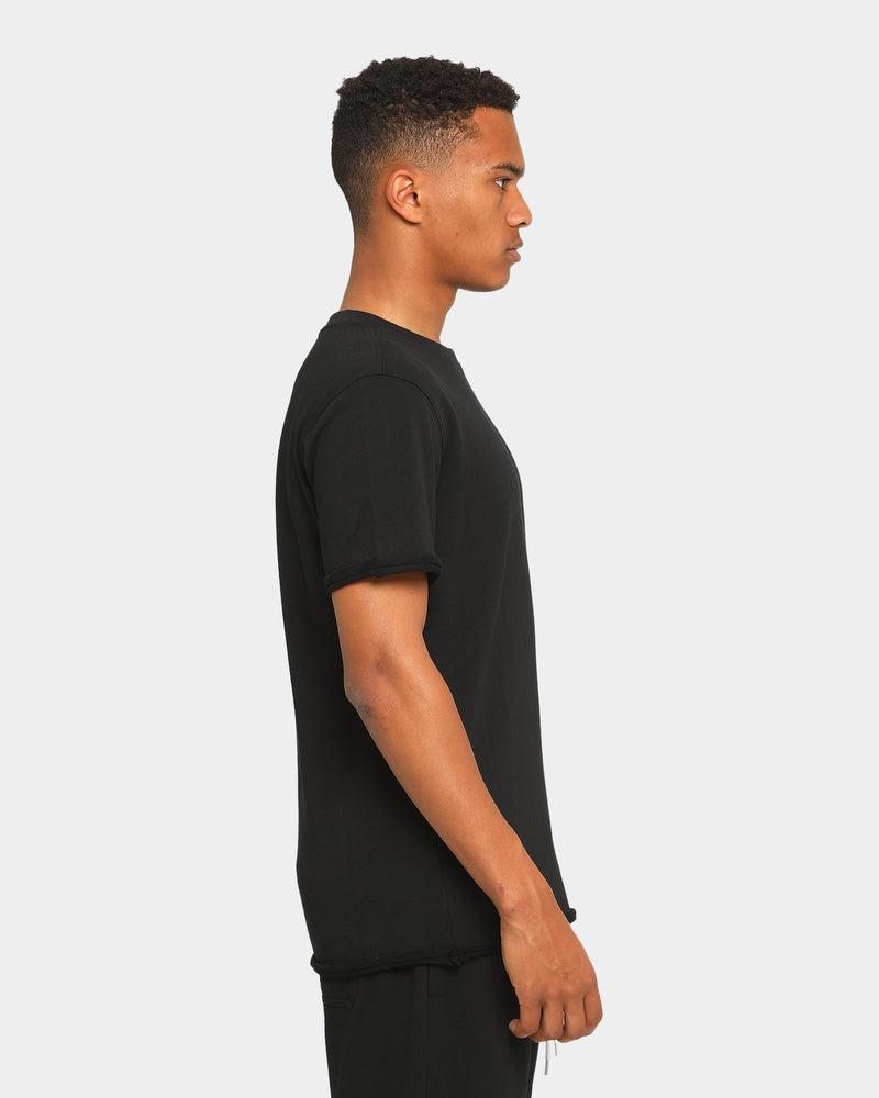 Carré Emblem Rugueux Short Sleeve T-Shirt Black